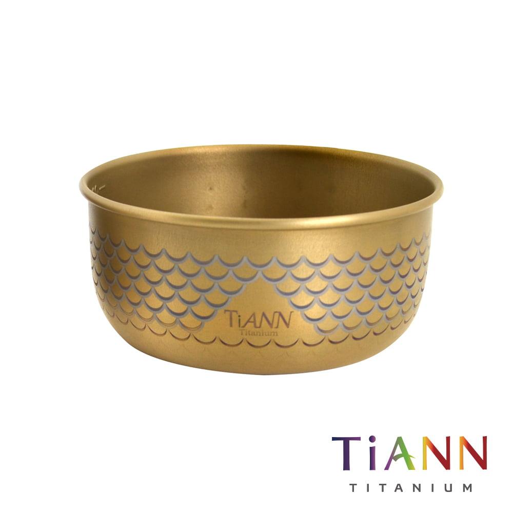 TiANN 鈦安餐具 純鈦餐具 鈦碗 中鋼鈦碗 鈦餐具 鈦安 鈦杯 鈦