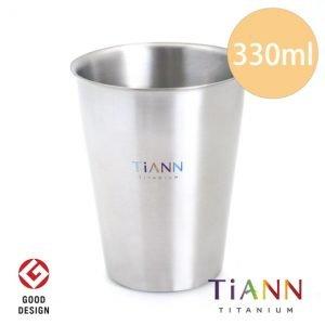 鈦杯 純鈦餐具 純鈦雙層咖啡杯 鈦餐具