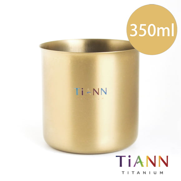 TiANN 鈦安餐具 純鈦餐具 鈦輕巧杯 露營用品