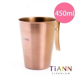 TiANN 鈦安餐具 純鈦餐具 鈦單層杯 露營用品