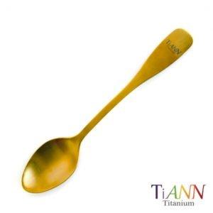 TiANN 鈦安餐具 鈦湯匙--【鈦安純鈦餐具TiANN】純鈦金湯匙