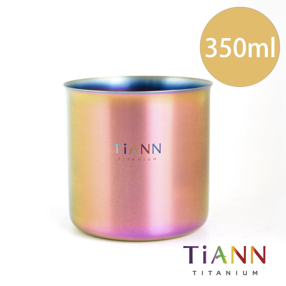 TiANN 鈦安餐具 純鈦餐具 鈦極光輕巧杯 露營用品