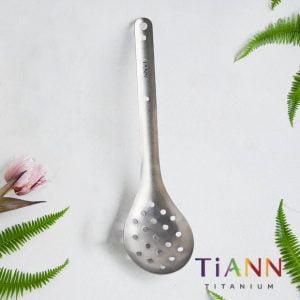 TiANN 鈦安餐具 台式火鍋漏勺 純鈦餐具