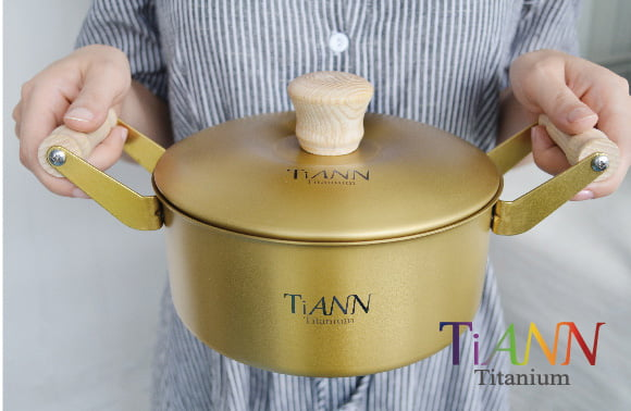 純鈦餐具 鈦鍋 鈦安TiANN09